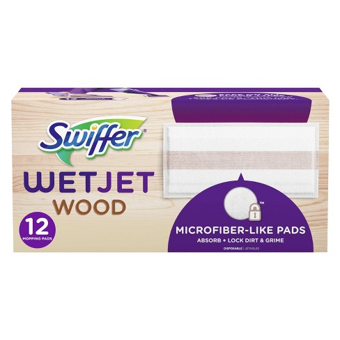 Swiffer WetJet Wood Mopping Pad Refill - 10ct - image 1 of 4