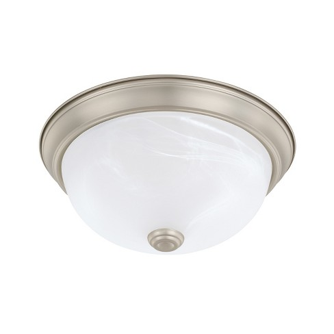 "Capital Lighting 219021 2 Light 11"" Wide Flush Mount Bowl Ceiling Fixture - image 1 of 1"