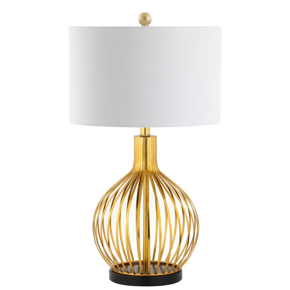 29.5 Baird Led Metal Table Lamp Gold (Includes Energy Efficient Light Bulb) - Jonathan Y
