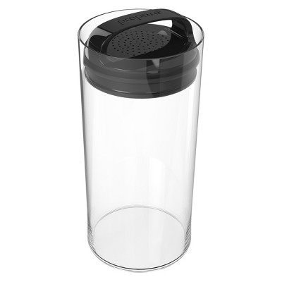 Food Storage Canister Short 2.4qt Black - Prepara