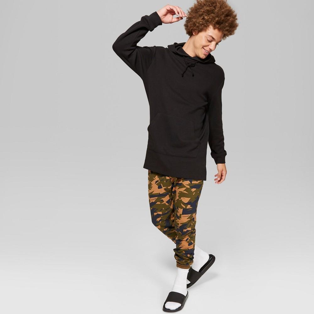 Men's Oversized Hooded Sweatshirt - Original Use Black XS