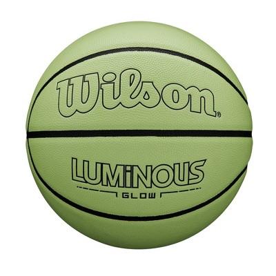 "Wilson 29.5"" Luminous Glow Basketball"
