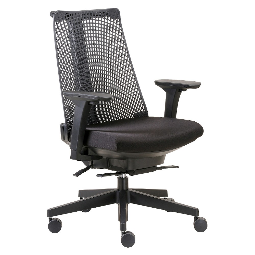 Image of Contemporary Executive Office Chair Black - Boss Office Products