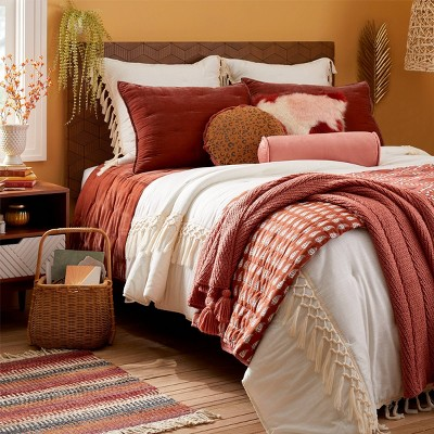 Bohemian Inspired Blush Fall Bedding Collection - Opalhouse™