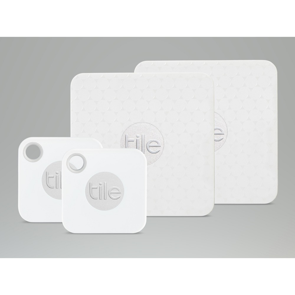 Tile Mate + Slim Combo (2018) 4pk - White