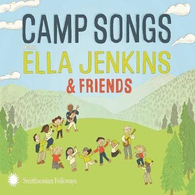 Ella Jenkins - Camp Songs with Ella Jenkins & Friends (CD)