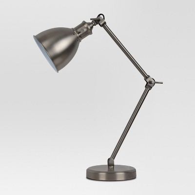 Industrial Task Table Lamp Pewter Lamp Only - Threshold™