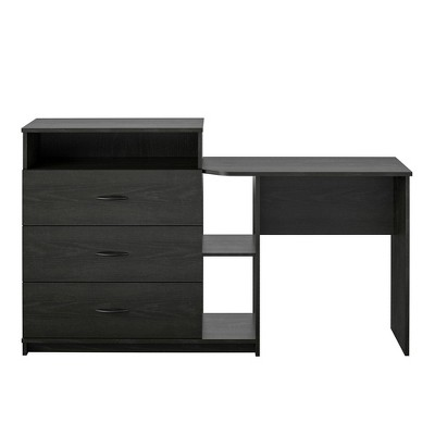 Devlin 3 in 1 Media Dresser and Desk Combo - Room & Joy
