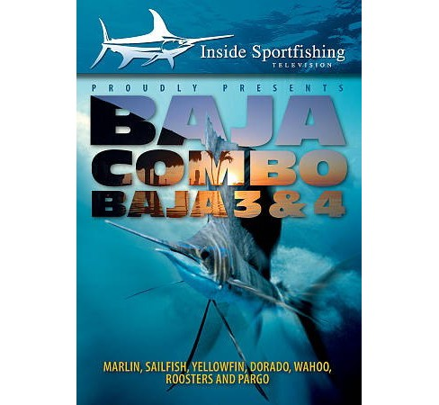 Inside Sportfishing:Baja 3 & 4 Combo (DVD) - image 1 of 1