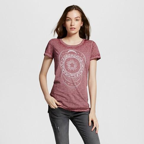 Women's Celestial Moonlight Graphic T-Shirt - LOL Vintage - image 1 of 2