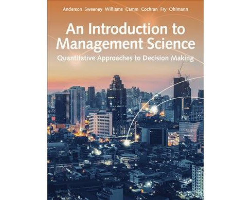 Introduction to Management Science : Quantitative Approaches to Decision Making -  (Hardcover) - image 1 of 1
