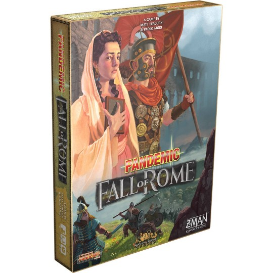 Zman Pandemic: Fall of Rome Board Game image number null