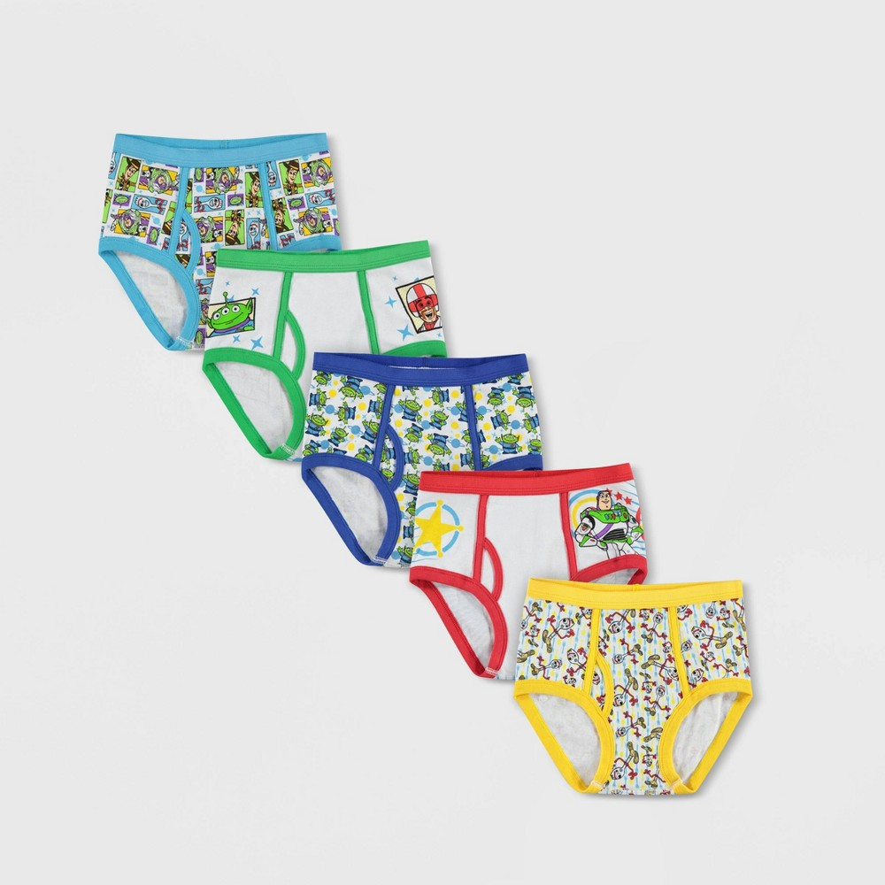 Image of Boys' Toy Story 4 5pk Classic Briefs - 4, Boy's, MultiColored
