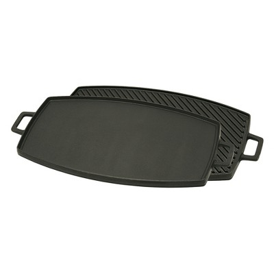 Bayou Classic Cast Iron 18in Reversible Griddle
