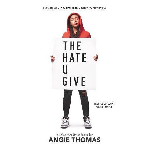 Hate U Give -  by Angie Thomas (Hardcover) - image 1 of 1