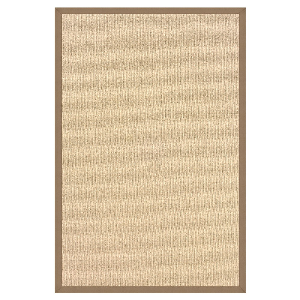 Athena Wool Area Rug - Beige (4' X 6')