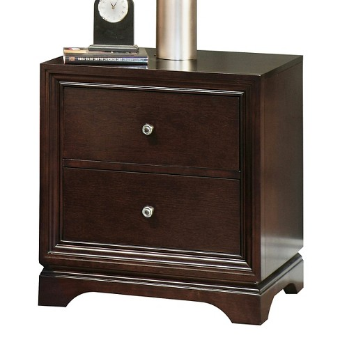 Nightstand Cocoa - Abysson Living - image 1 of 2