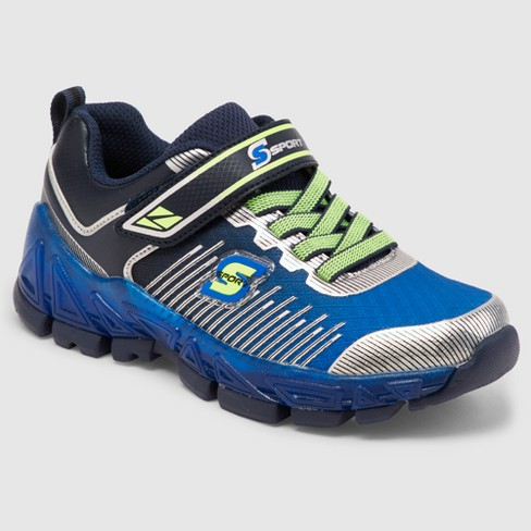 f5aabc7b00dab Boys' S Sport By Skechers Nenzo Light Up Athletic Shoes - Blue : Target