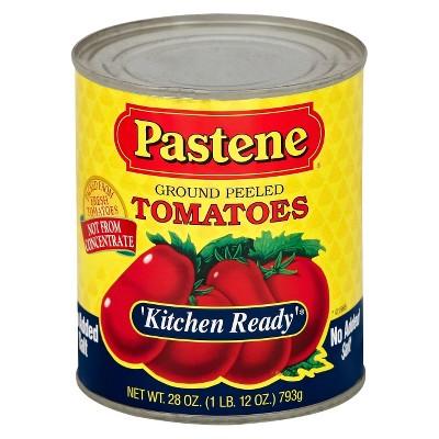 Pastene Ground Peeled Tomatoes No Added Salt 28oz