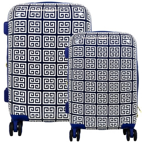 The Macbeth Collection 2pc Geo Print Hardside Luggage Set - image 1 of 3