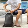 Lewis N. Clark WaterSeals Drawstring Bag with Secura Lock Technology - Black - image 2 of 4