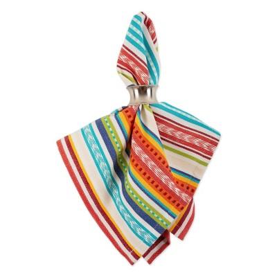 6pk Cotton Baja Striped Napkins - Design Imports