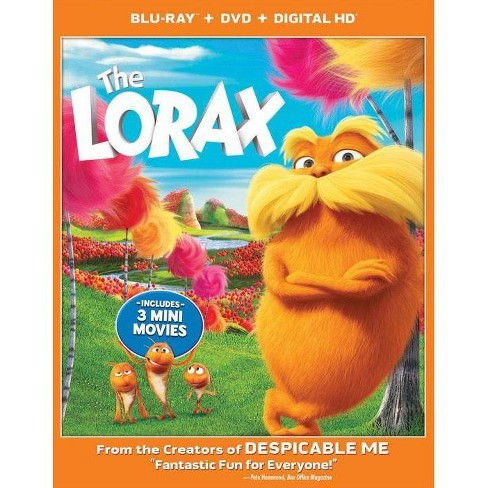 Dr. Seuss' The Lorax (3 Discs) (Includes Digital Copy) (UltraViolet) (3D/2D) (Blu-ray/DVD) (Widescreen) - image 1 of 1