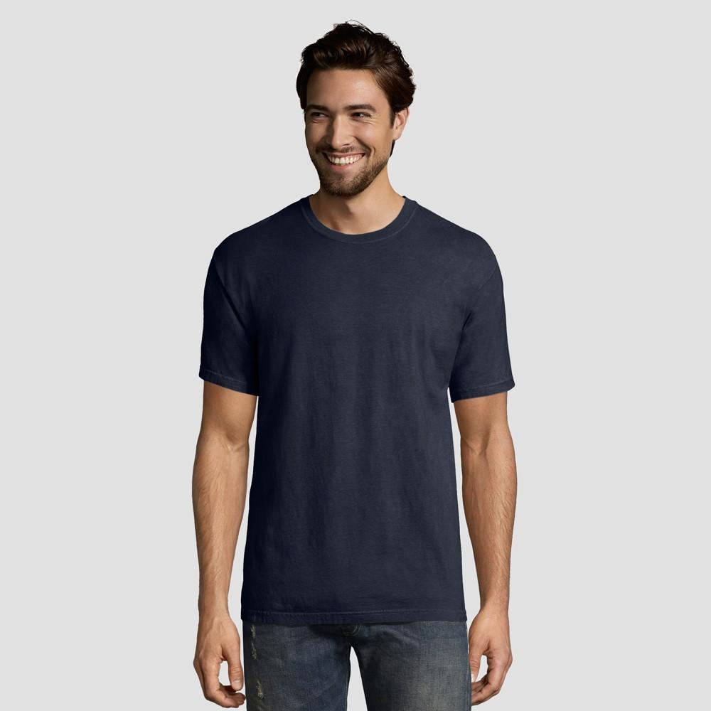 Hanes 1901 Men S Short Sleeve T Shirt Navy S