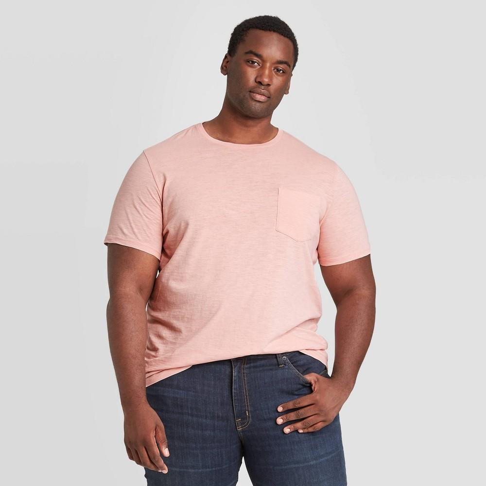 Compare Men's Tall Standard Fit Short Sleeve Slub Pocket Jersey T-Shirt - Goodfellow & Co™