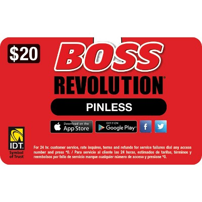 Boss Revolution Refill Card (Email Delivery)