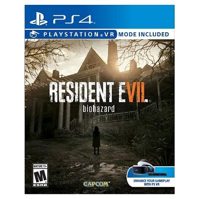 Resident Evil 7: Biohazard PlayStation 4