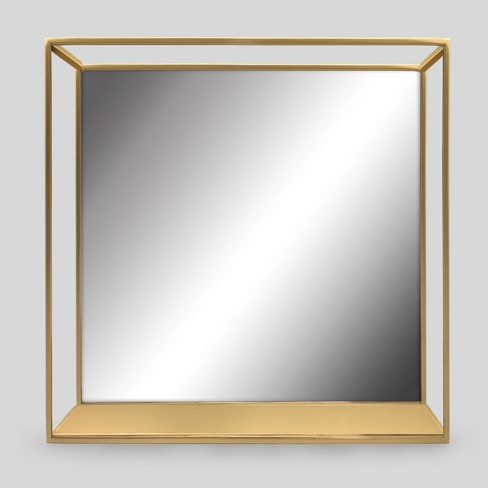View Photos Play Project 62 Decorative Wall Mirror And Shelf