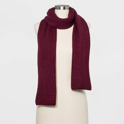 Women's Shaker Stitch Knit Scarf - A New Day™ Heather One Size