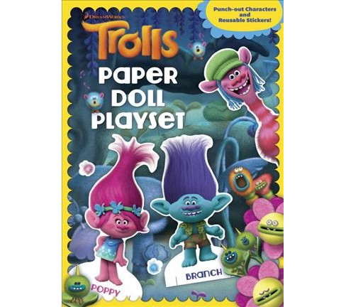 Paper Doll Playset (Paperback) - image 1 of 1