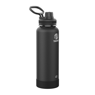 Takeya 40oz Actives Pickleball Insulated Stainless Steel Water Bottle with Spout Lid