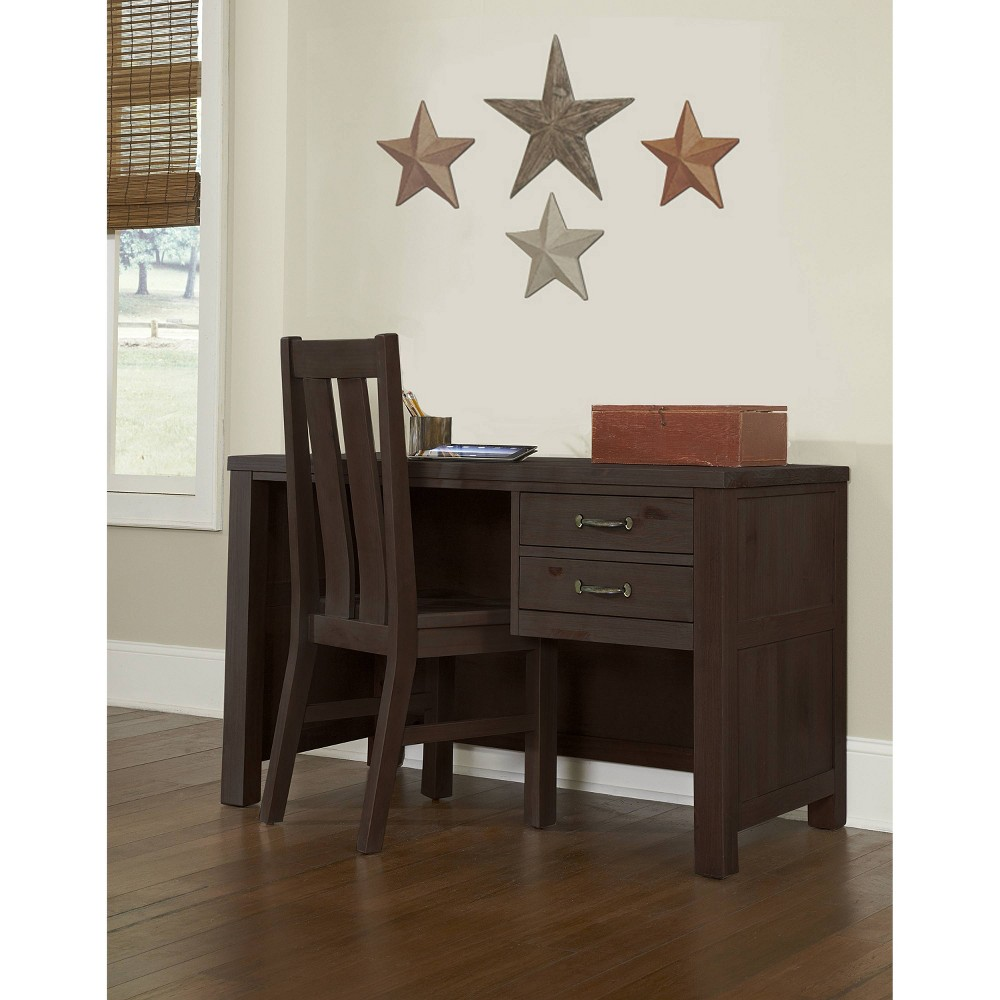 Highlands Desk with Chair Espresso - Hillsdale Furniture Highlands Desk with Chair Espresso - Hillsdale Furniture
