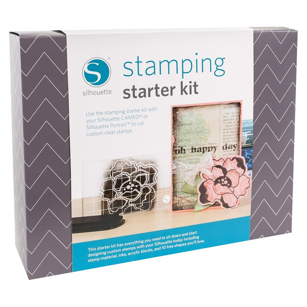 Silhouette Stamping Starter kit, Multi-Colored