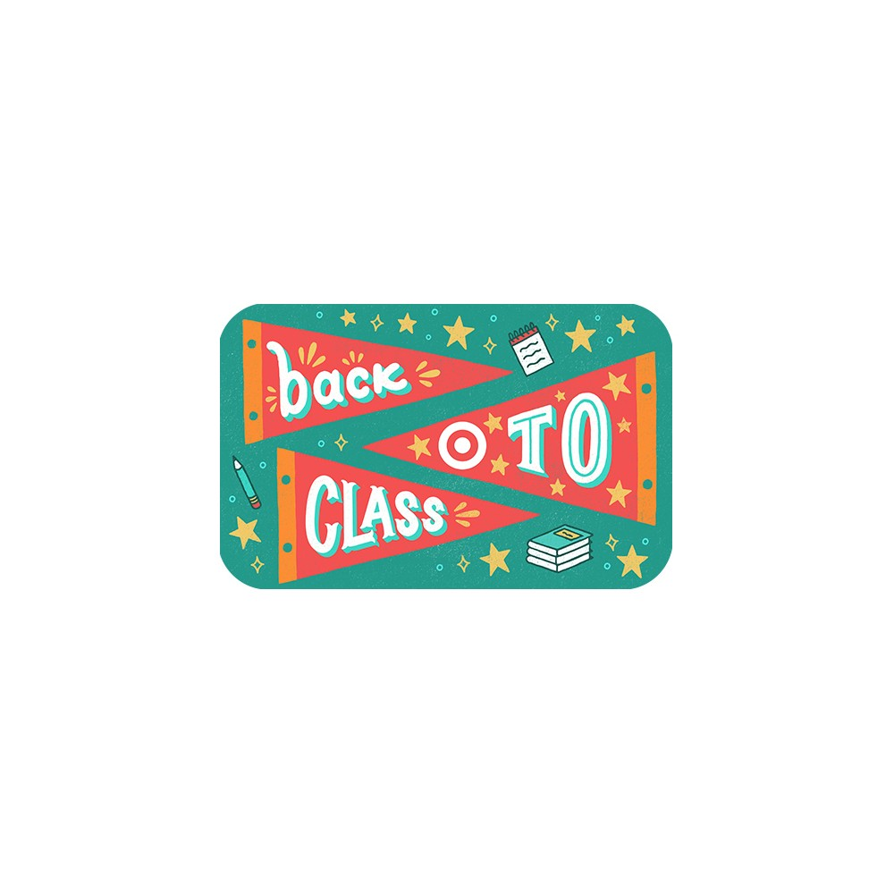 Back To Class Target Giftcard Back To Class Target Giftcard
