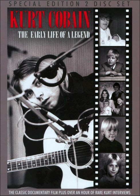 Kurt cobain:Early life of a legend (DVD) - image 1 of 1