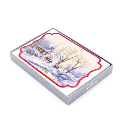 16ct Hallmark Thomas Kinkaid Greeting Cards