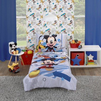 Toddler Mickey Mouse Bedding Set