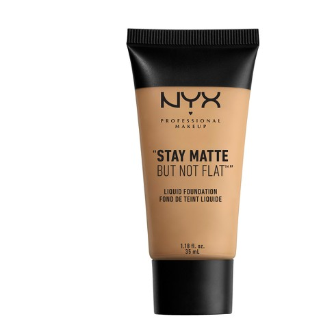 "NYX Professional ""Stay Matte But Not Flat"" Liquid Foundation - Medium Shades - image 1 of 3"