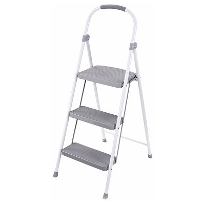 Rubbermaid Steel Step Stool, 3-Step
