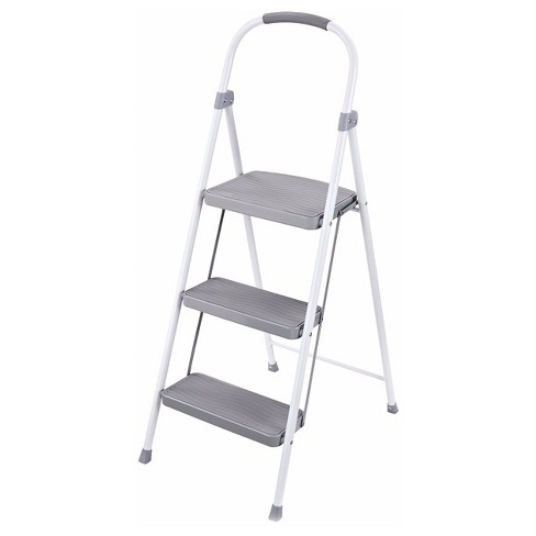 Outstanding Rubbermaid Steel Step Stool 3 Step Creativecarmelina Interior Chair Design Creativecarmelinacom