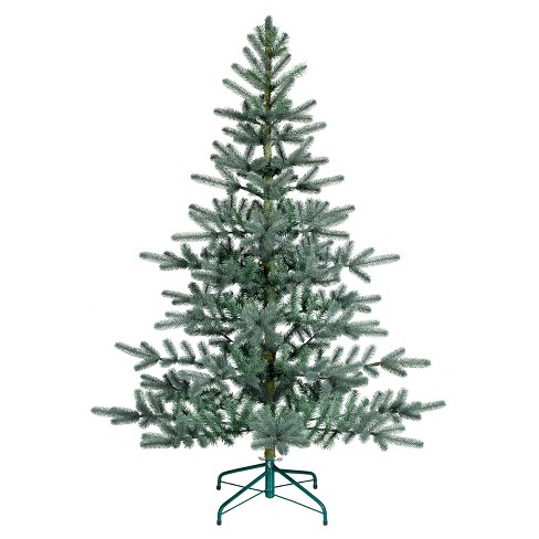 5 5ft Unlit Artificial Christmas Tree Blue Green Balsam Fir Wonder