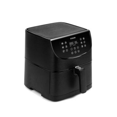 Cosori Premium 5.8-Quart Air Fryer with Skewer Rack Set - Black