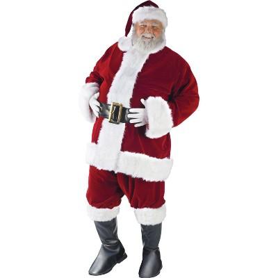 Adult Plus Size Ultra Santa Costume XXL