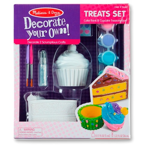 Melissa & Doug® DIY Bank and Box Craft - Dessert - image 1 of 1
