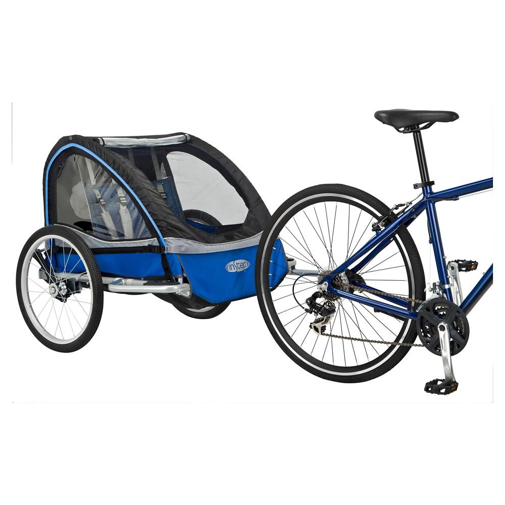 InStep Rocket II Double Bike Trailer – Blue & Gray