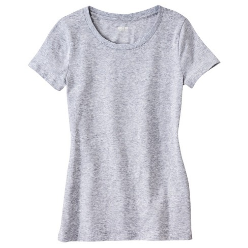 Women's Boyfriend Crew T-Shirt - Mossimo Supply Co. - image 1 of 3